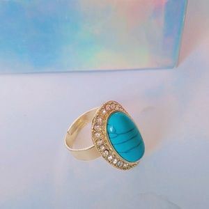 Jewelry - 🆕NWOT Blue Stone Ring